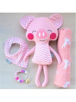Canastilla de bebé Mr. Pig