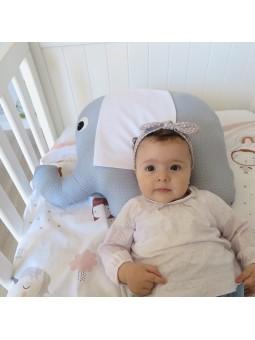 almohada de bebe con nombre