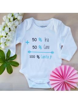 body personalizado para bebe