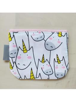 bolsa mascarillas unicornios