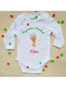 body para bebé en navidad