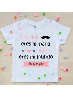 camiseta niña dia del padre
